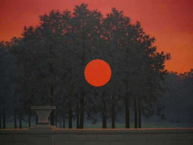 The Banquet - Rene Magritte